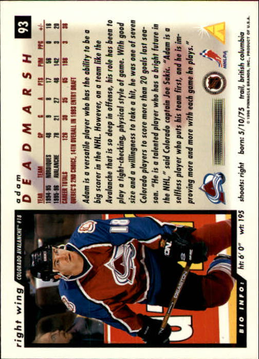 1996-97-Score-Hockey-Cards-Pick-From-List thumbnail 147