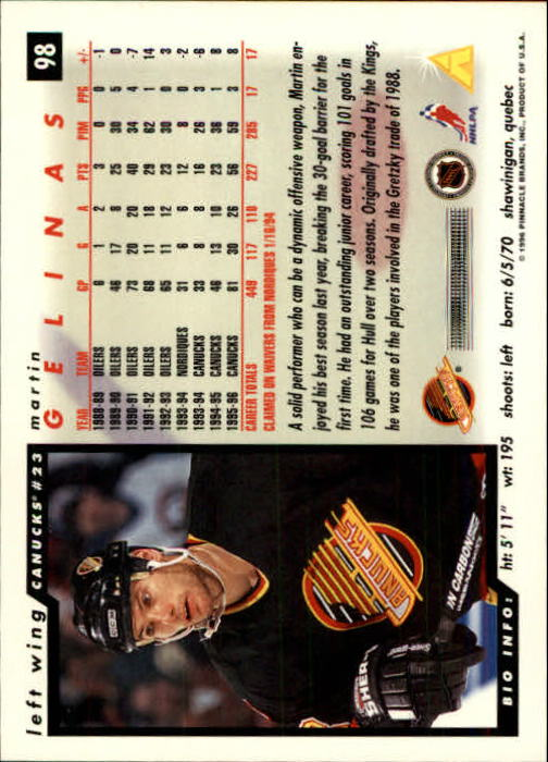 1996-97-Score-Hockey-Cards-Pick-From-List thumbnail 157