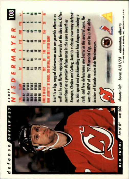 1996-97-Score-Hockey-Cards-Pick-From-List thumbnail 173