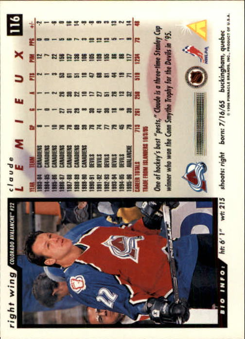 1996-97-Score-Hockey-Cards-Pick-From-List thumbnail 187
