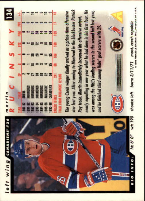 1996-97-Score-Hockey-Cards-Pick-From-List thumbnail 217