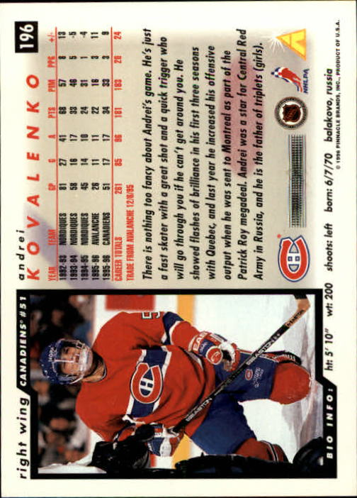 1996-97-Score-Hockey-Cards-Pick-From-List thumbnail 327