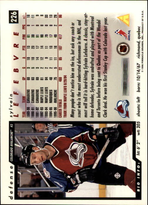 1996-97-Score-Hockey-Cards-Pick-From-List thumbnail 377