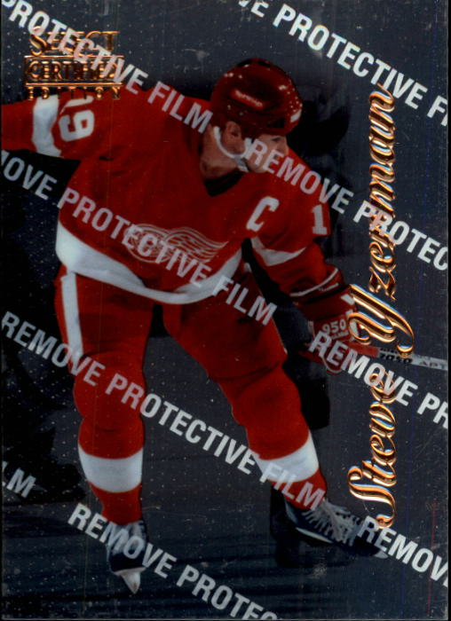 1996-97 Select Certified #41 Steve Yzerman