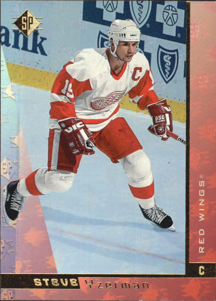 1996-97 SP #47 Steve Yzerman