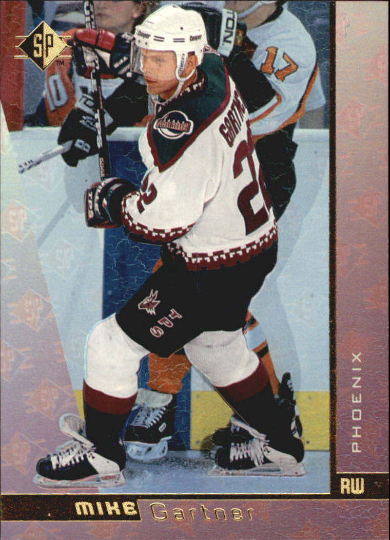 1996-97 SP #123 Mike Gartner
