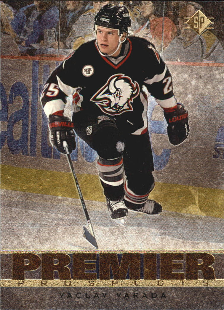 1996-97 SP #171 Vaclav Varada RC