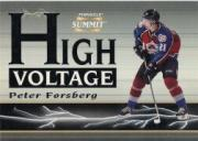 1996-97 Summit High Voltage Mirage #6 Peter Forsberg