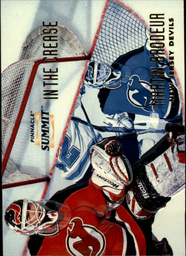 1996-97 Summit In The Crease #8 Martin Brodeur