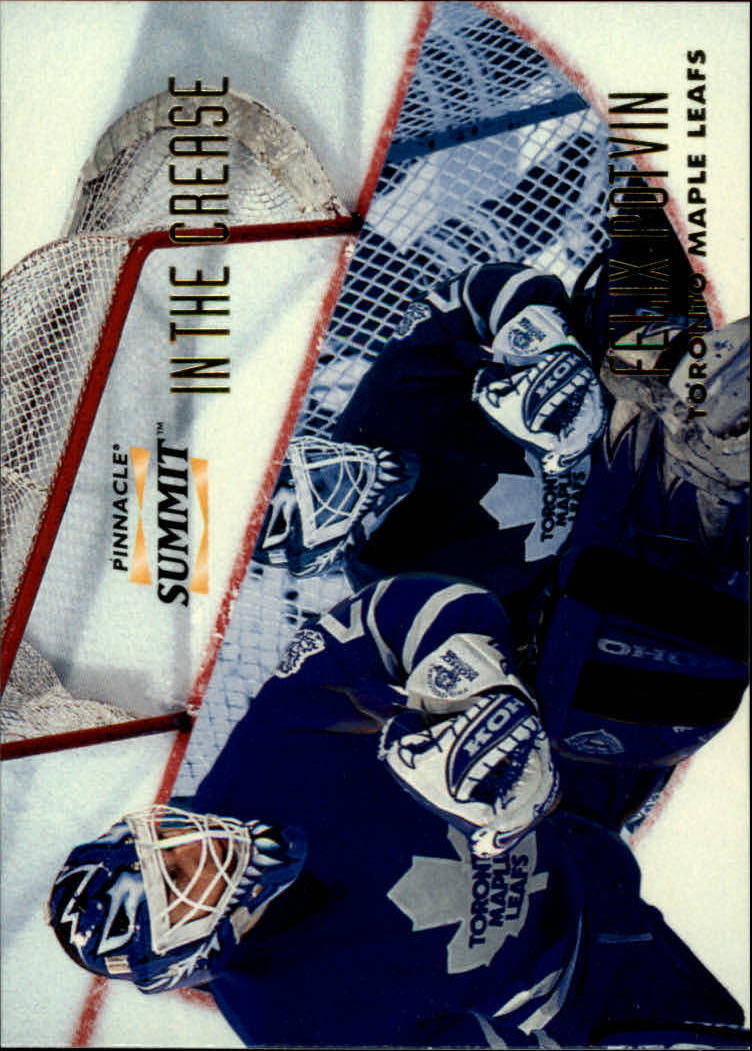 1996-97 Summit In The Crease #9 Felix Potvin
