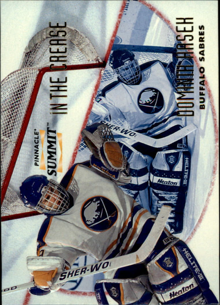 1996-97 Summit In The Crease #14 Dominik Hasek