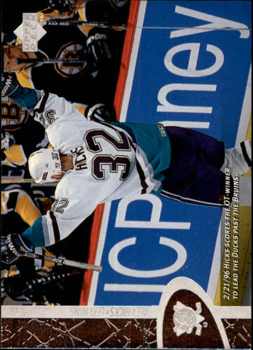 1996-97 Upper Deck #6 Alex Hicks RC