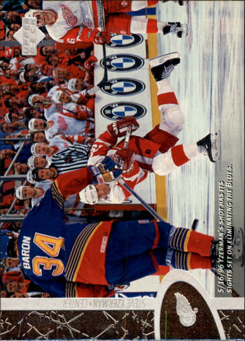1996-97 Upper Deck #50 Steve Yzerman