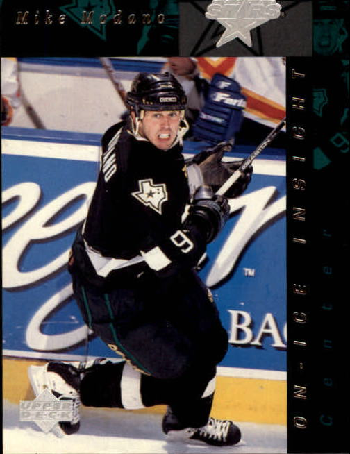 1996-97 Upper Deck #363 Mike Modano OII
