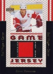 1996-97 Upper Deck Game Jerseys #GJ1 Steve Yzerman