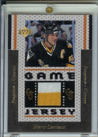 1996-97 Upper Deck Game Jerseys #GJ6 Mario Lemieux