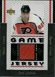 1996-97 Upper Deck Game Jerseys #GJ8 Eric Lindros