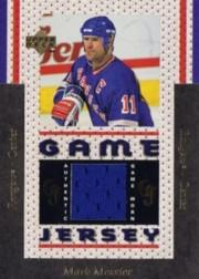 1996-97 Upper Deck Game Jerseys #GJ11 Mark Messier