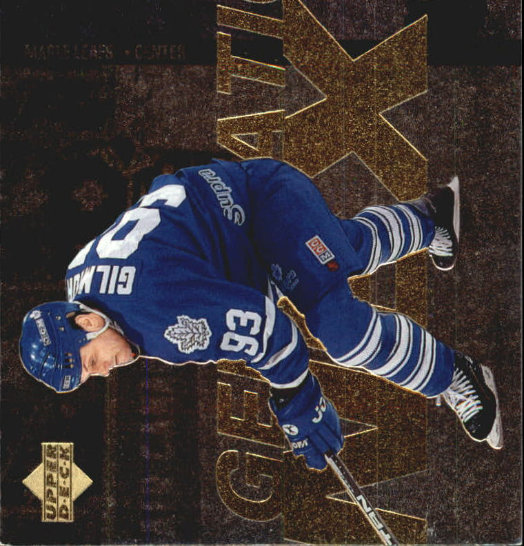 1996-97 Upper Deck Generation Next #X10 Doug Gilmour/Sergei Fedorov