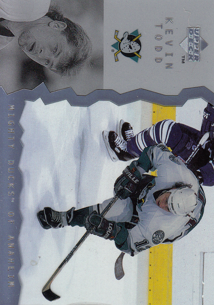 1996-97 Upper Deck Ice #1 Kevin Todd