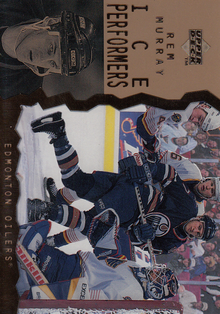 1996-97 Upper Deck Ice #19 Rem Murray RC