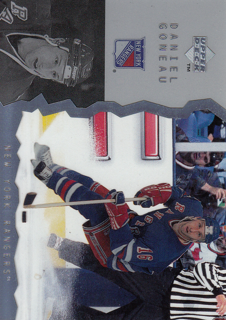 1996-97 Upper Deck Ice #42 Daniel Goneau RC