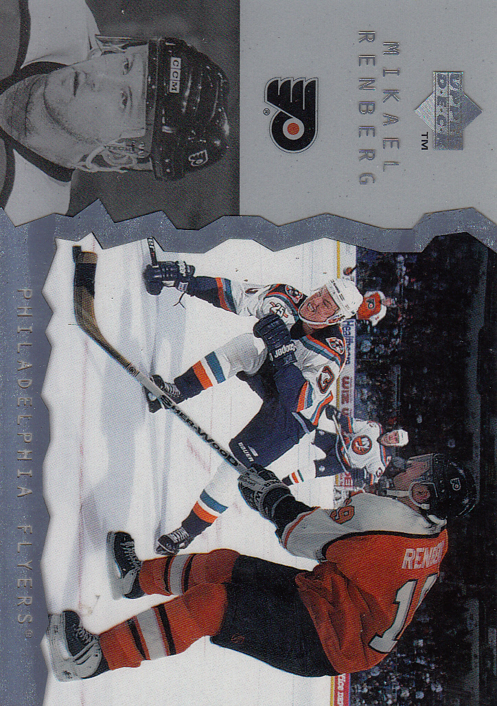 1996-97 Upper Deck Ice #46 Mikael Renberg