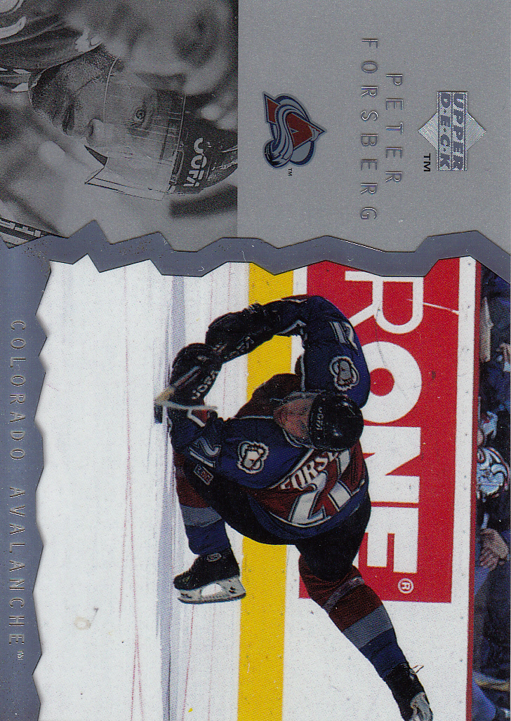 1996-97 Upper Deck Ice #81 Peter Forsberg