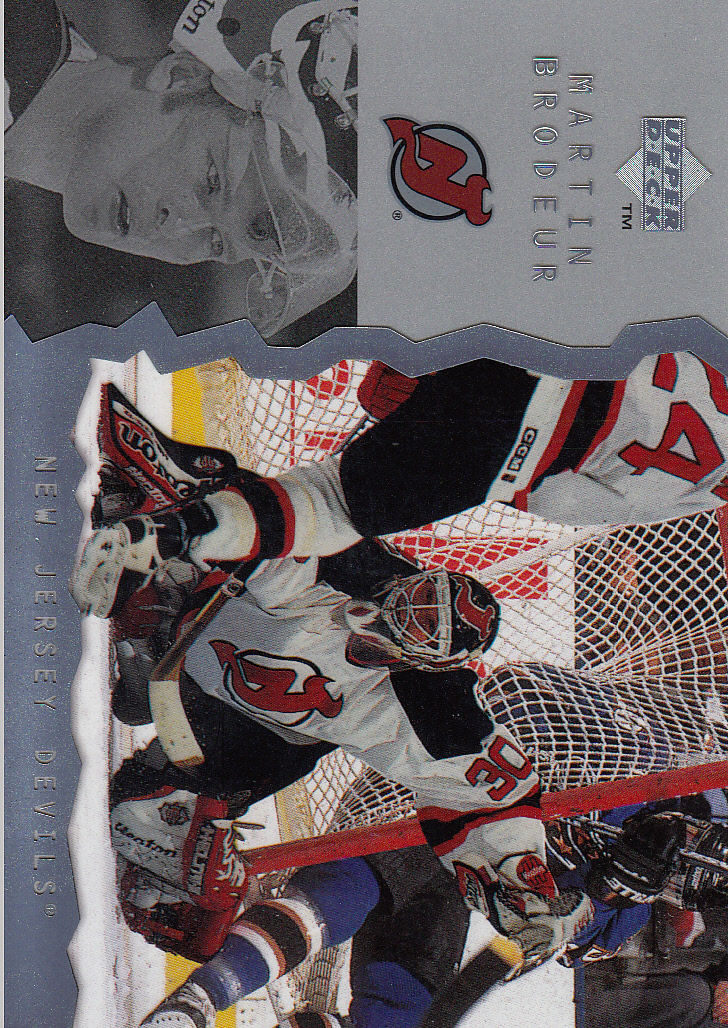 1996-97 Upper Deck Ice #92 Martin Brodeur