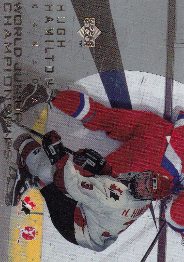 1996-97 Upper Deck Ice #124 Hugh Hamilton RC