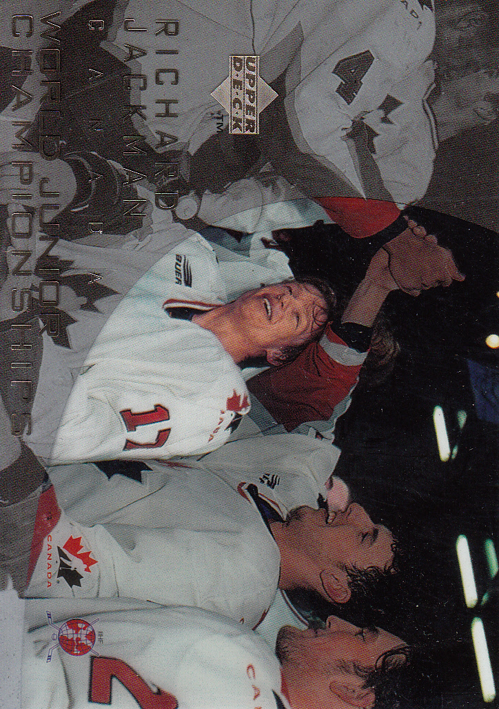 1996-97 Upper Deck Ice #133 Richard Jackman RC