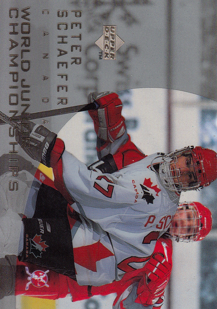 1996-97 Upper Deck Ice #135 Peter Schaefer RC