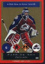 1996-97 Playoff One on One #431 Patrick Roy UR