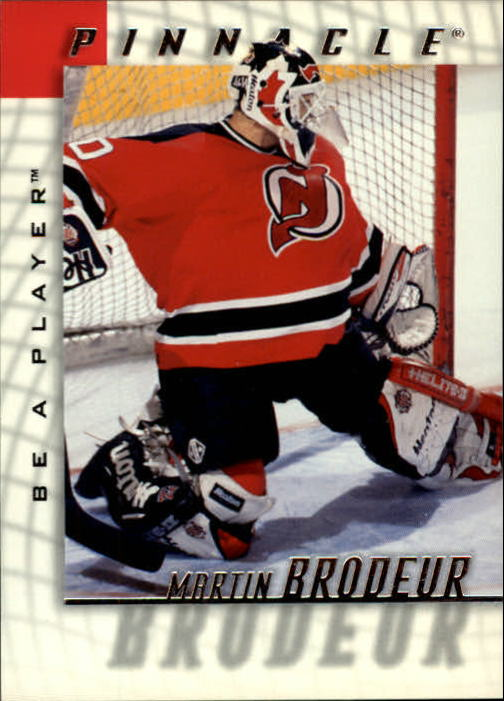 1997-98 Be A Player #2 Martin Brodeur