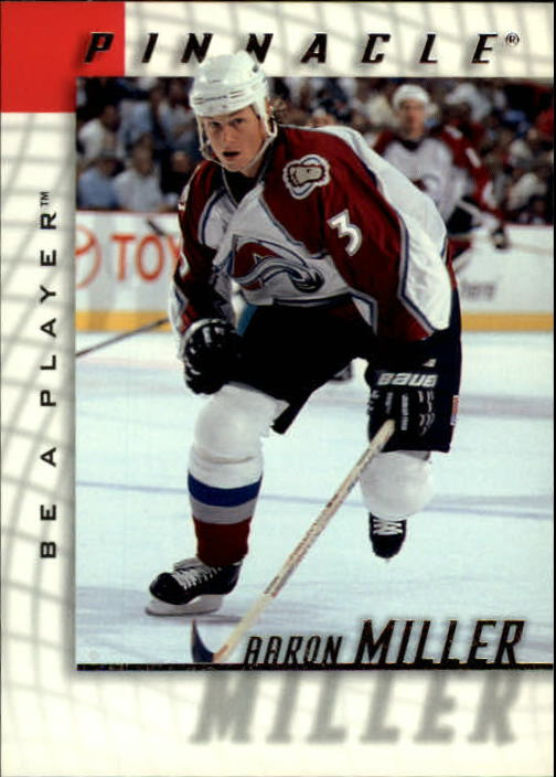 1997-98 Be A Player #75 Aaron Miller