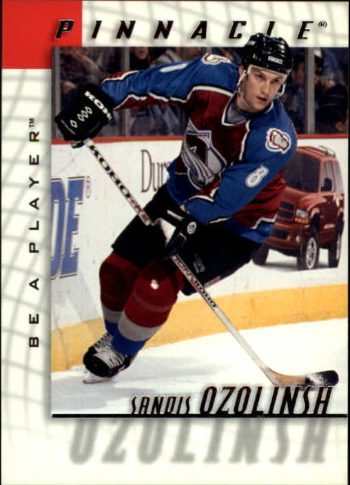 1997-98 Be A Player #115 Sandis Ozolinsh