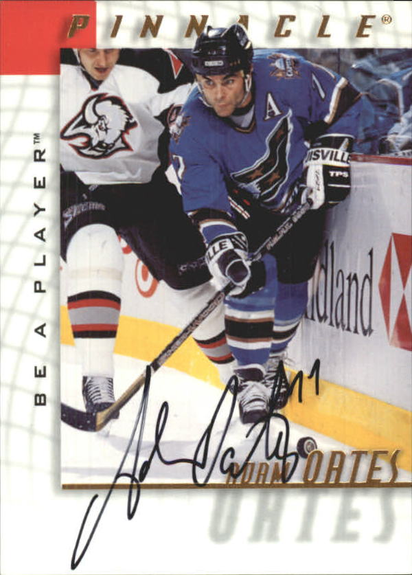 1997-98 Be A Player Autographs #5 Adam Oates