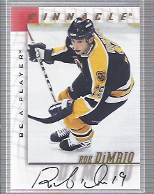 1997-98 Be A Player Autographs #6 Rob DiMaio