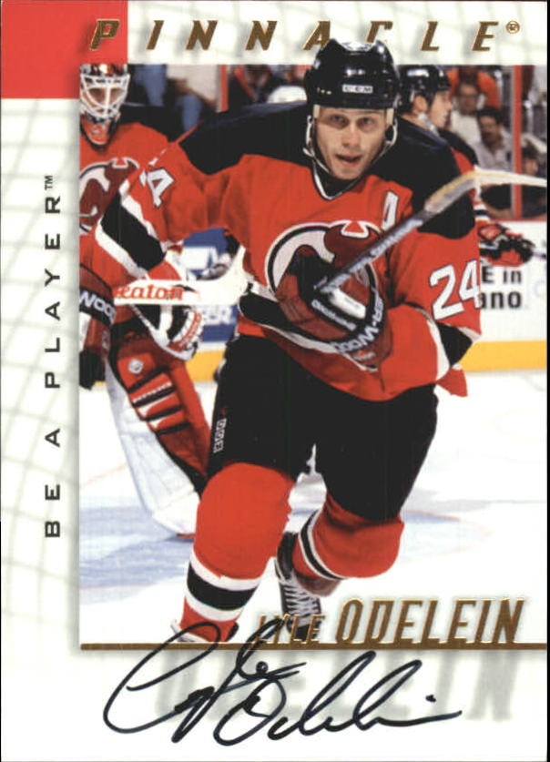 1997-98 Be A Player Autographs #17 Lyle Odelein