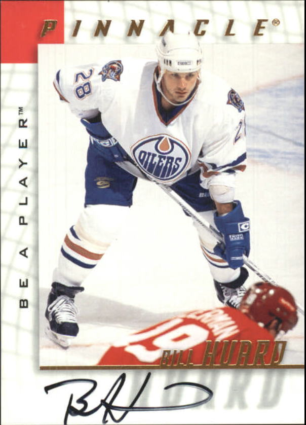 1997-98 Be A Player Autographs #31 Bill Huard