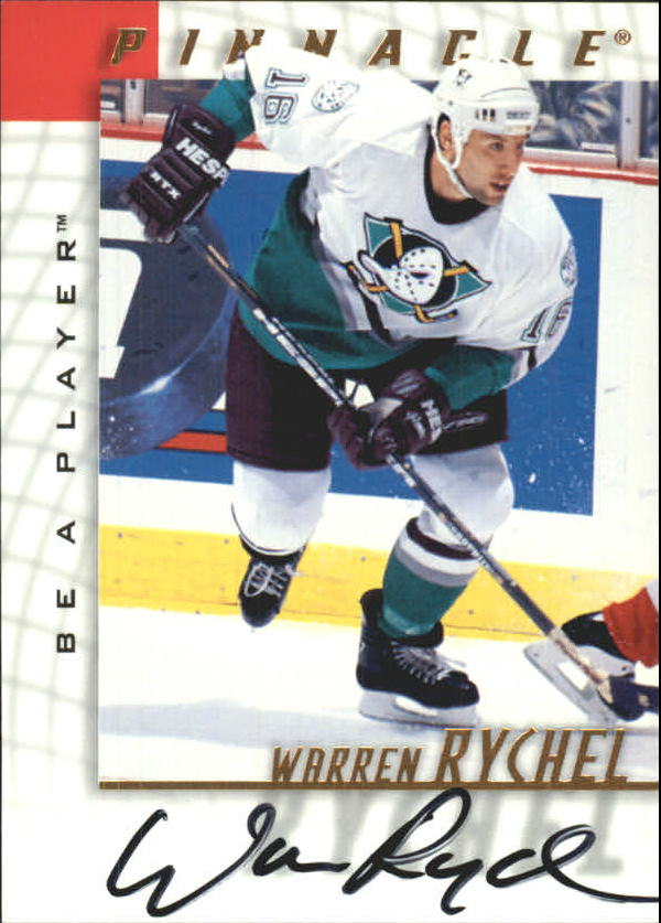 1997-98 Be A Player Autographs #32 Warren Rychel