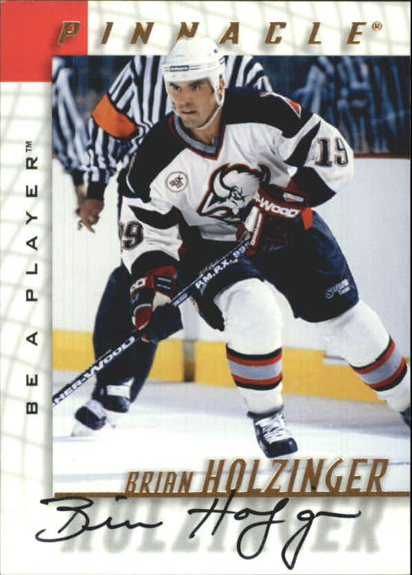 1997-98 Be A Player Autographs #34 Brian Holzinger