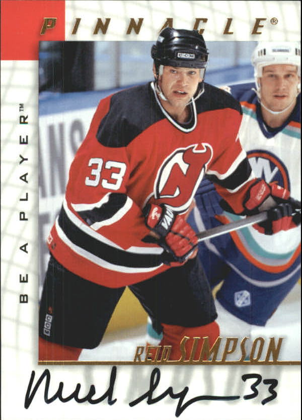 1997-98 Be A Player Autographs #47 Reid Simpson