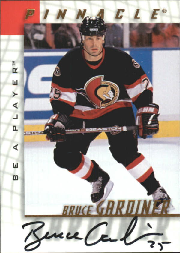 1997-98 Be A Player Autographs #51 Bruce Gardiner
