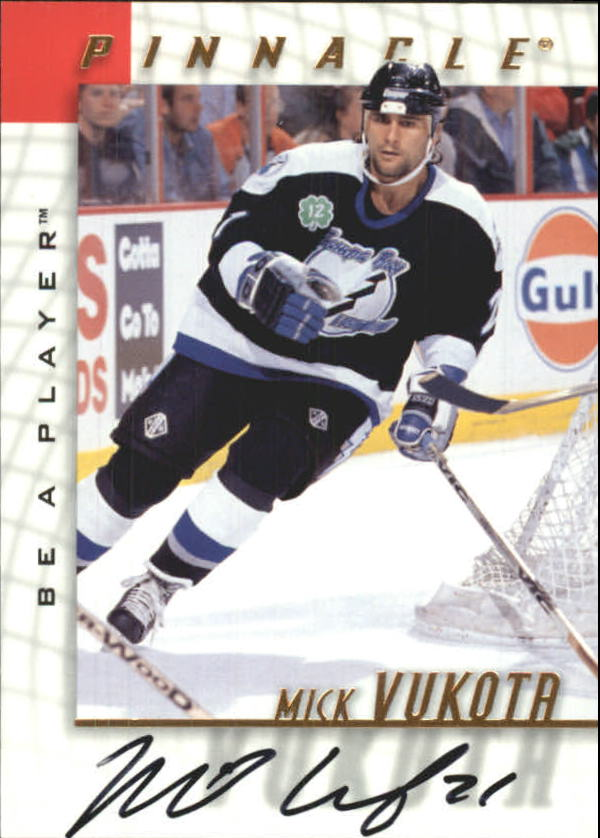 1997-98 Be A Player Autographs #56 Mick Vukota
