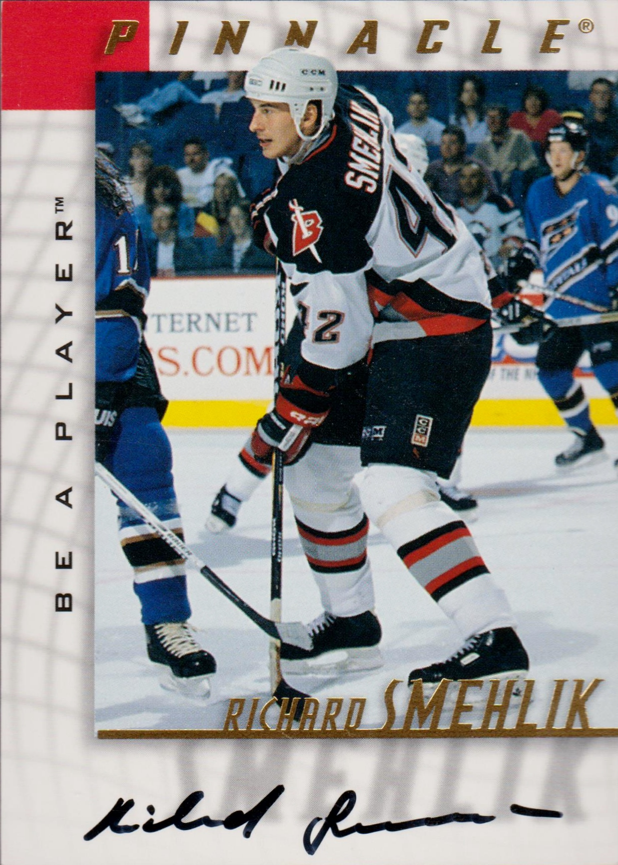1997-98 Be A Player Autographs #74 Richard Smehlik