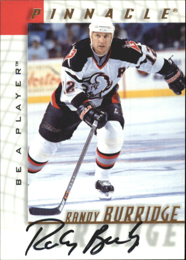 1997-98 Be A Player Autographs #79 Randy Burridge