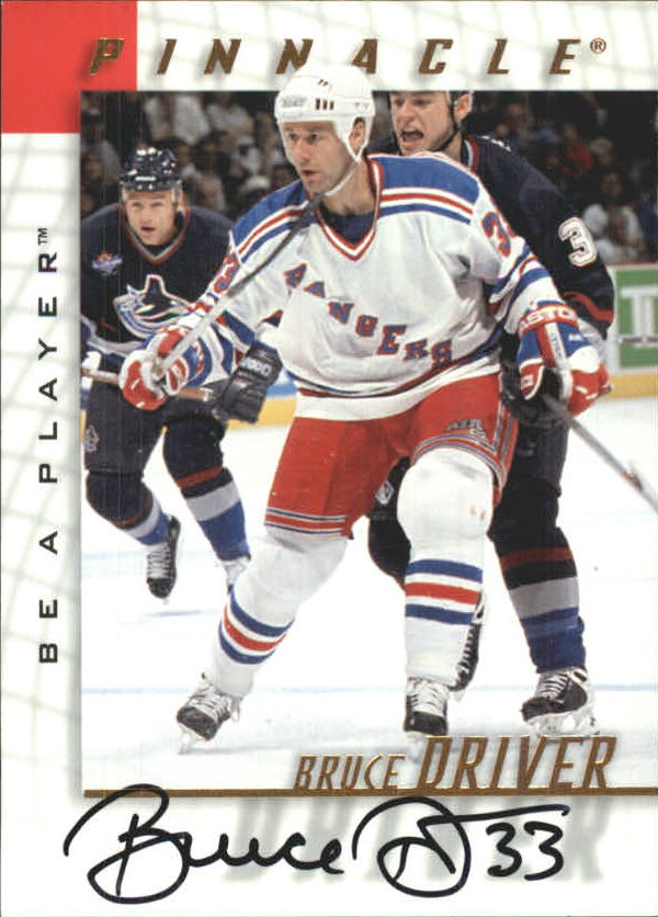 1997-98 Be A Player Autographs #87 Bruce Driver