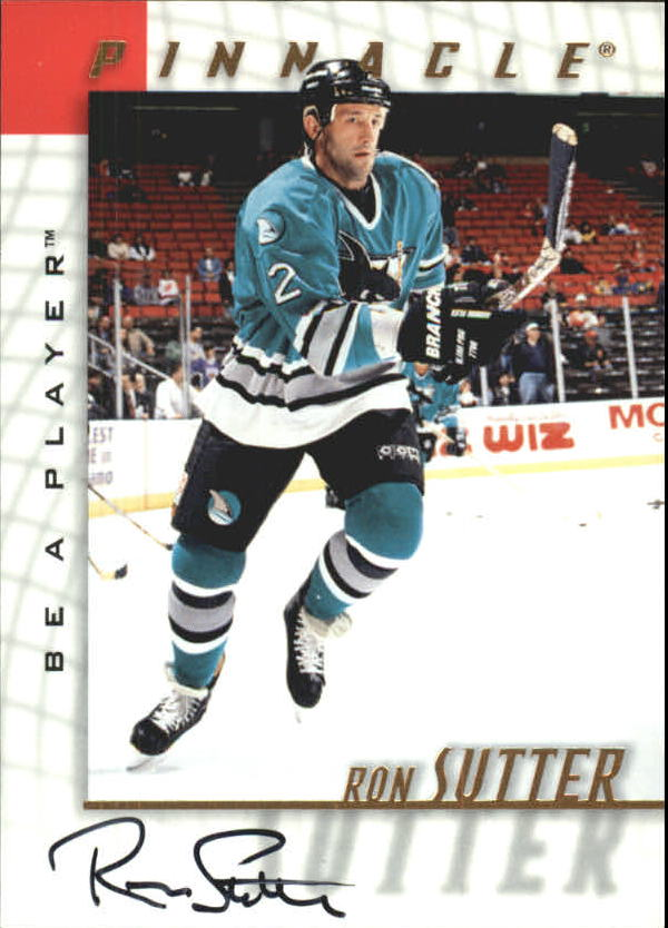 1997-98 Be A Player Autographs #106 Ron Sutter