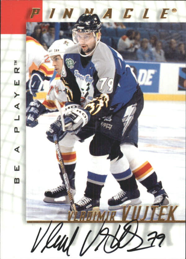 1997-98 Be A Player Autographs #113 Vladimir Vujtek